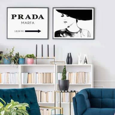 Poster-Set Fashion and Elegance
