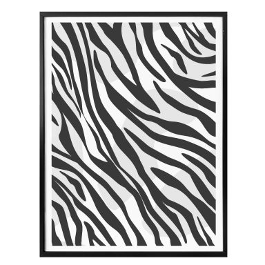 Poster Zebra Print