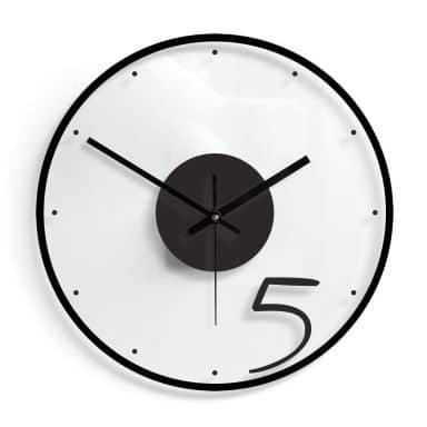 Orologio in vetro - Cinque 02