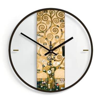 Orologio in vetro Klimt - Albero della vita