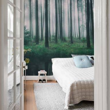 Photo Wallpaper - Lindsten - Misty Woods
