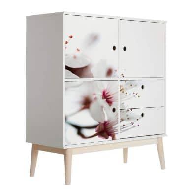 Furniture Wrap - Beautiful Flowers 03
