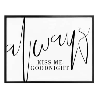 Poster Always kiss me Goodnight