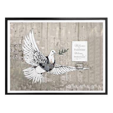 Poster Banksy - Die Friedenstaube