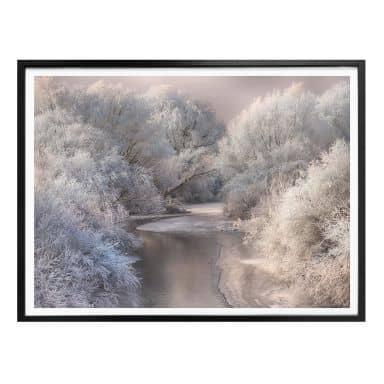 Poster Bela - Winter Landscape