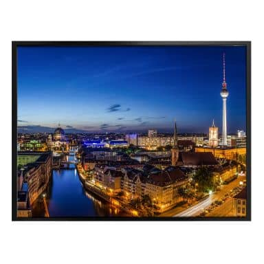 Poster Berlin Panorama