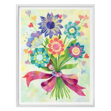 Poster Blanz - Blumenstrauss
