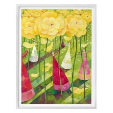 Poster Blanz - Blumenwiese