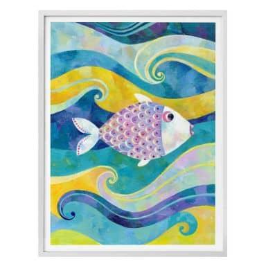 Poster Blanz - Der kleine Fisch