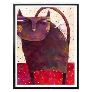 Poster Blanz - Katz und Maus