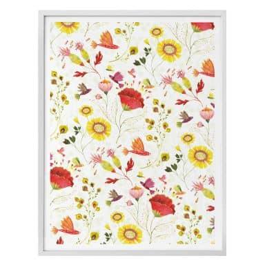 Poster Blanz - Phantastic Flowers