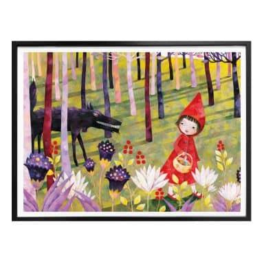Poster Blanz - Rotkäppchen