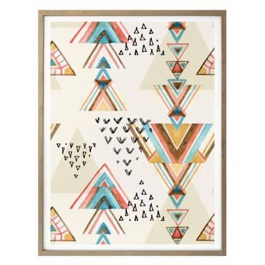 Poster Bohemian Triangles