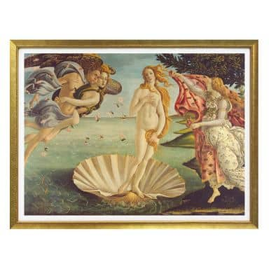 Poster Botticelli - Geburt der Venus