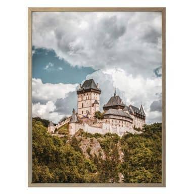 Poster Burg Karlstein