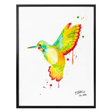 Poster Buttafly - Hummingbird