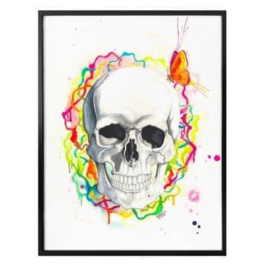 Poster Buttafly - Skull