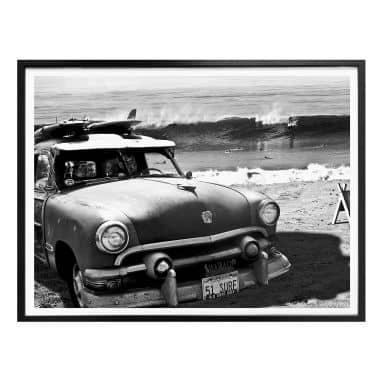 Poster Butterworth - Surfing on Hawaii