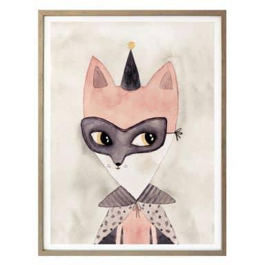 Poster Carnival Fox
