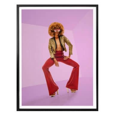 Poster Carvalho - Disco Glamour: Afro