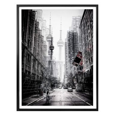 Poster Chiriaco - Straßen in Toronto