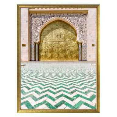 Poster Colombo - Alawi Moschee im Oman
