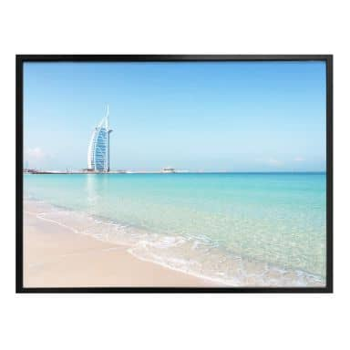 Poster Colombo – Am Strand von Dubai