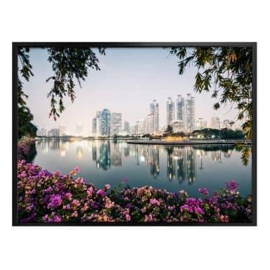 Poster Colombo - Bangkok und seine Lichter