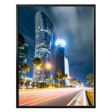 Poster Colombo - Qatar - Doha