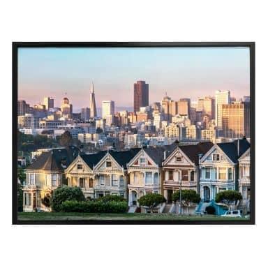 Poster Colombo - Skyline von San Francisco