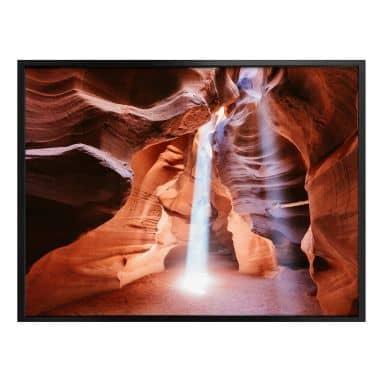 Poster Colombo - Sonnenstrahlen im Antelope Canyon