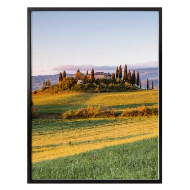 Poster Colombo - Zonsondergang in Toscane