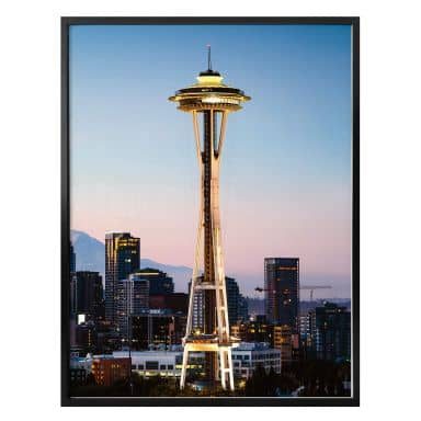 Poster Colombo - Space Needle in Seattle
