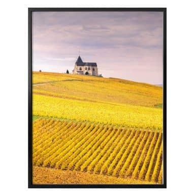 Poster Colombo - Weinfelder in der Champagne