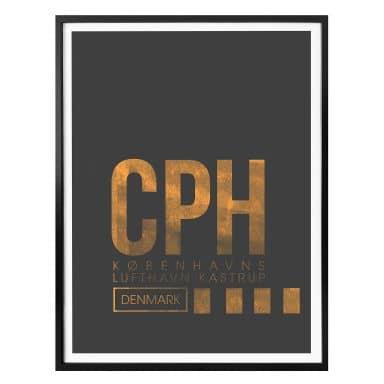 Poster 08Left - CPH Flughafen Kopenhagen