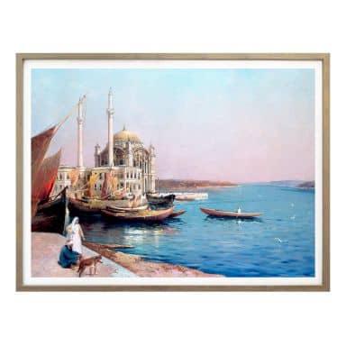 Poster Dellepiane - An den Ufern des Bosporus