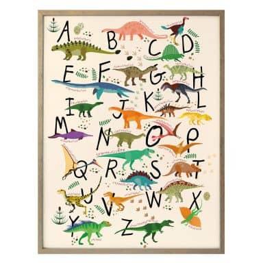 Poster – Dinosaurus Alfabet