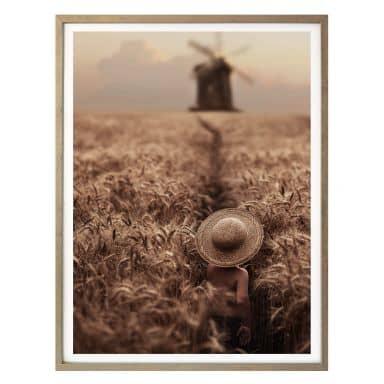Poster Dubnitskiy - In the Field