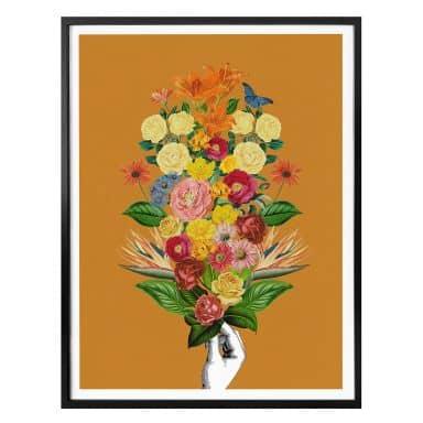 Poster Feldmann - Botanical Yellow