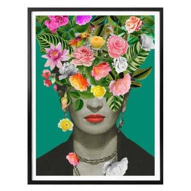 Poster Feldmann - Frida Floral