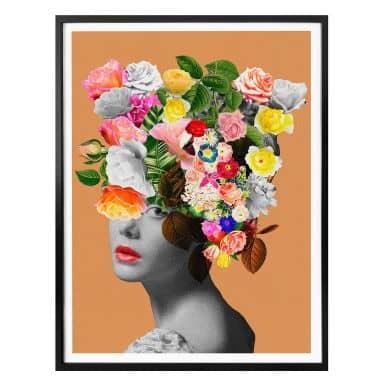 Poster Feldmann - Orange Lady