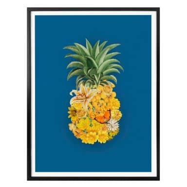 Poster Feldmann - Pineapple Blue