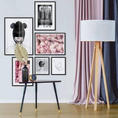 Poster set incl. frames - Feminine Beauty
