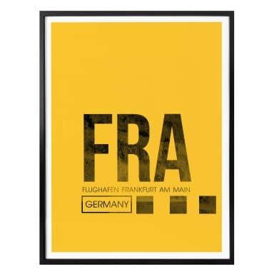Poster 08Left - FRA Flughafen Frankfurt