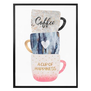 Poster Fredriksson - A cup of happiness