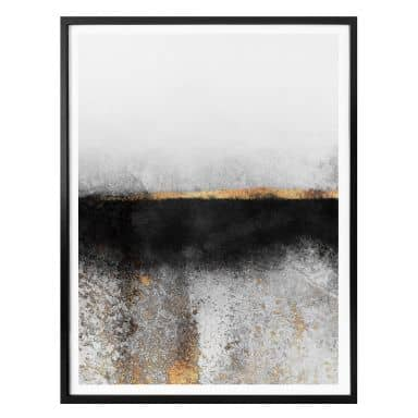 Poster Fredriksson - Soot & Gold
