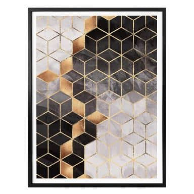 Poster Fredriksson - Smoky Cubes
