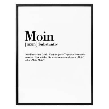 Poster Grammatik Moin