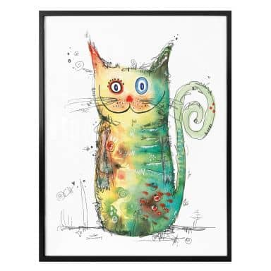 Poster Hagenmeyer – Crazy Cat
