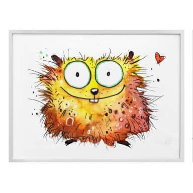 Poster Hagenmeyer - Happy Hamster